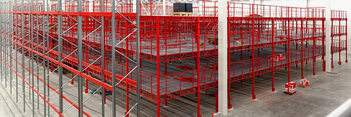 Мезонин-платформа на колоннах