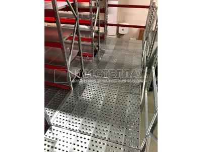 Мезонин для производственного помещения в г.Волоколамск