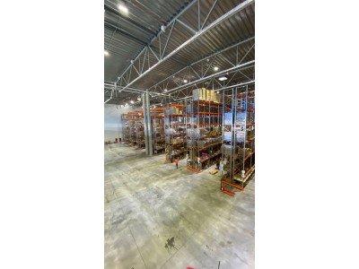 Комплексная поставка складского оборудования на склад в Московской области