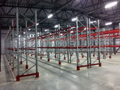 Закончен монтаж стеллажей на складе в г.Иваново