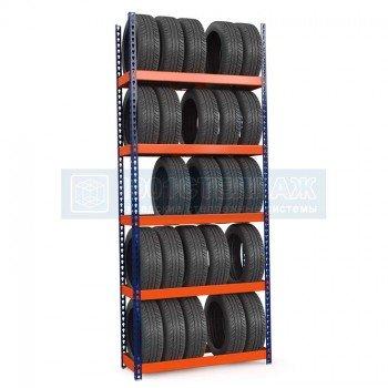 Стеллаж для шин Профи-Т 3000х1240х455 - 5 ярусов хранения шин