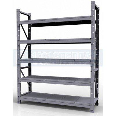 Стеллаж складскойСГР3000х1200х700- 5 полок(нагрузка на полку до 320 кг)
