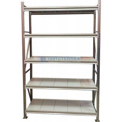 Сборный стеллаж СГР ОЦ4000х1800х400- 5 полок(нагрузка на полку до 450 кг)