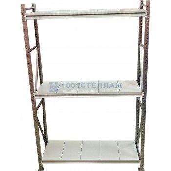 Сборный стеллаж СГР ОЦ 2000х1200х500- 3 полки (нагрузка на полку до 320 кг)