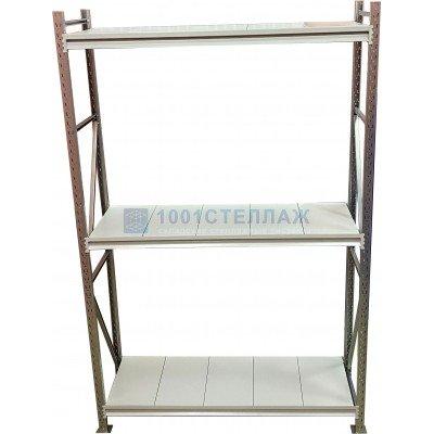 Сборный стеллаж СГР ОЦ1500х2100х800- 3 полки(нагрузка на полку до 560 кг)