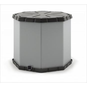 Разборный пластиковый контейнер Октабин 1150х1150х1150