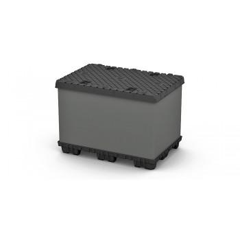 Разборный пластиковый контейнер TwinSheet 1220х820х950