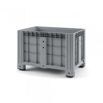 Пластиковый контейнер IBOX 1200х800х800 (сплошной, на ножках)