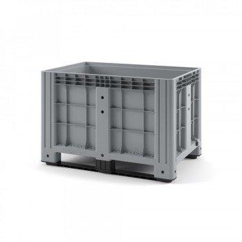 Пластиковый контейнер IBOX 1200х800х800 (сплошной, на полозьях)