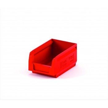 Складской лоток 165х100х75 мм красный