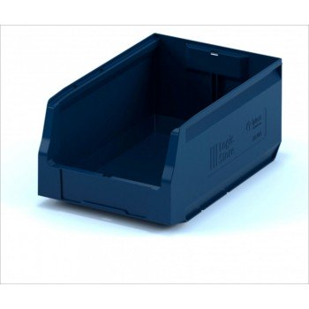 Складской лоток 350х225х150 мм синий