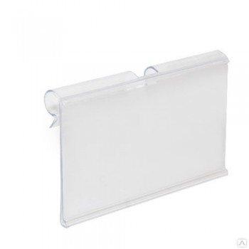 Ценникодержатель пластиковый 39х72 мм