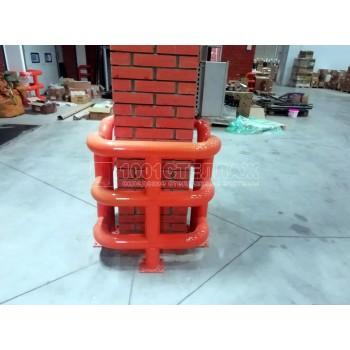 П-образная защита колонны 500х500 мм