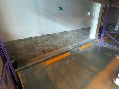 Поставка и установка защитных ограждений на складе в г.Москва