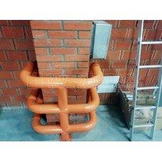 П-образная защита колонны 650х500 мм