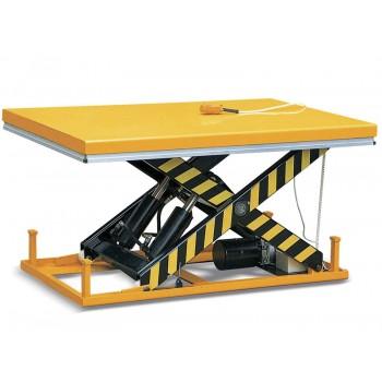 Стол подъёмный стационарный TOR HW1002, г/п 1000кг, высота подъёма 205-990 мм