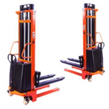 Штабелер гидравлический с электроподъемом PEMS10 TopLifter 1.6 м, 1000 кг