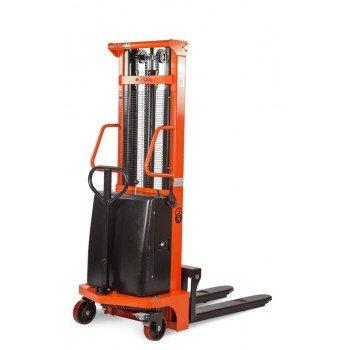 Штабелер гидравлический с электроподъемом CTD 15/16 TOR (г/п 1500 кг, в/п 1.6 м)