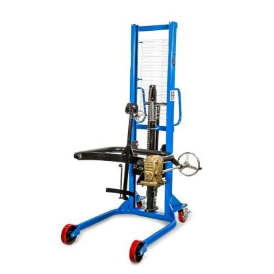 Штабелер-бочкокантователь ручной гидравлический TOR COT (г/п 0.35 т, в/п 1.4 м)