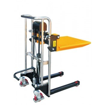 Штабелер ручной гидравлический TOR PJ4085 (г/п 0.4 т, в/п 0.85 м)