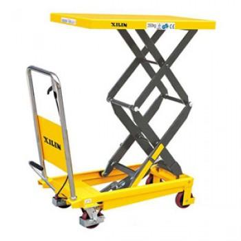 Стол подъёмный передвижной XILIN SPS150 (г/п 150 кг, в/п 302-1100 мм)
