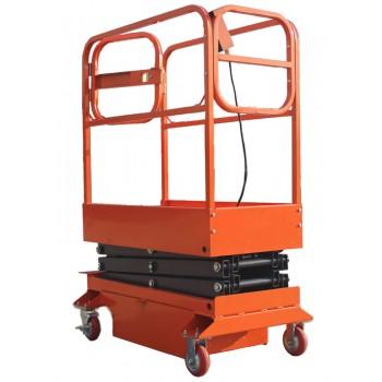 Подъёмник ножничный передвижной полуэлектрический TOR GTJY (г/п 240 кг, в/п 4 м)