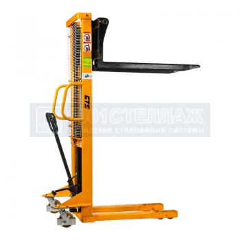 Штабелер гидравлический ручной SMART SDJ 0516 (500 кг, высота подъема 1600 мм, 1150х550 мм)