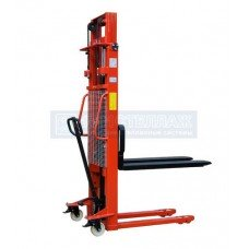 Штабелер гидравлический ручной EP MSE 1000/3000 (г/п 1000 кг, в/п 3000 мм, 1150х560 мм)