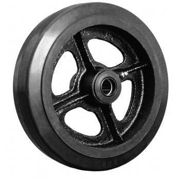 Комплект литых колёс с чугунным ободом Ø250 мм (2 шт.)