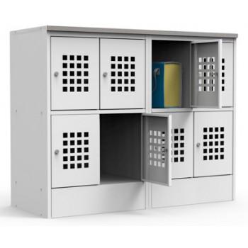 Металлический шкаф для сумок ШМ-С 24-30
