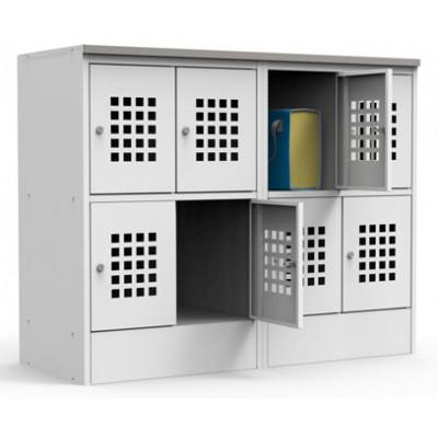 Металлический шкаф для сумок ШМС 24-30