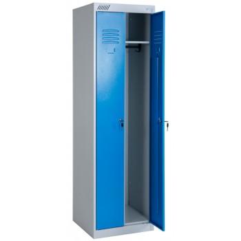 Металлический шкаф для одежды ШРЭК 22-530