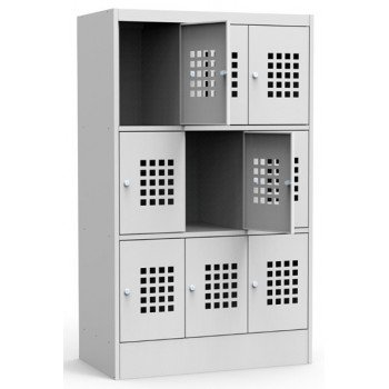Металлический шкаф для сумок ШМ-С 33-30