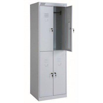 Металлический шкаф для одежды ШРК 24-800