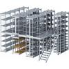 Мезонинные стеллажи для склада