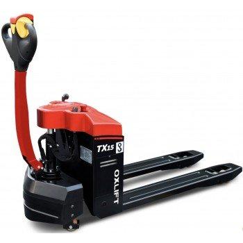 Самоходная электрическая тележка TX15 (г/п 1500 кг, АКБ 24V/70Ah)