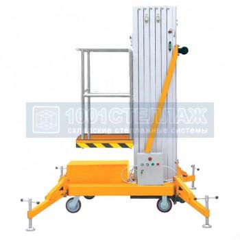 Подъёмник одномачтовый SMART GTWY 10-100 (г/п 125 кг, в/п 10 м, AC&DC)