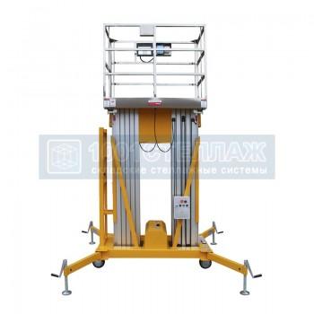 Подъёмник двухмачтовый SMART GTWY 12-200S (г/п 200 кг, в/п 12 м, AC&DC)
