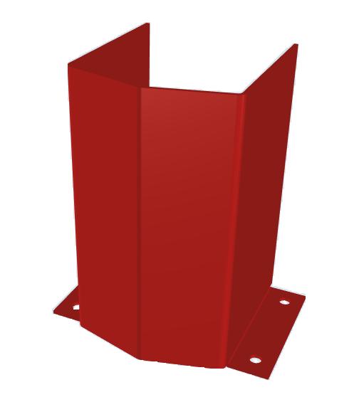 Фронтальная защита стоек стеллажей